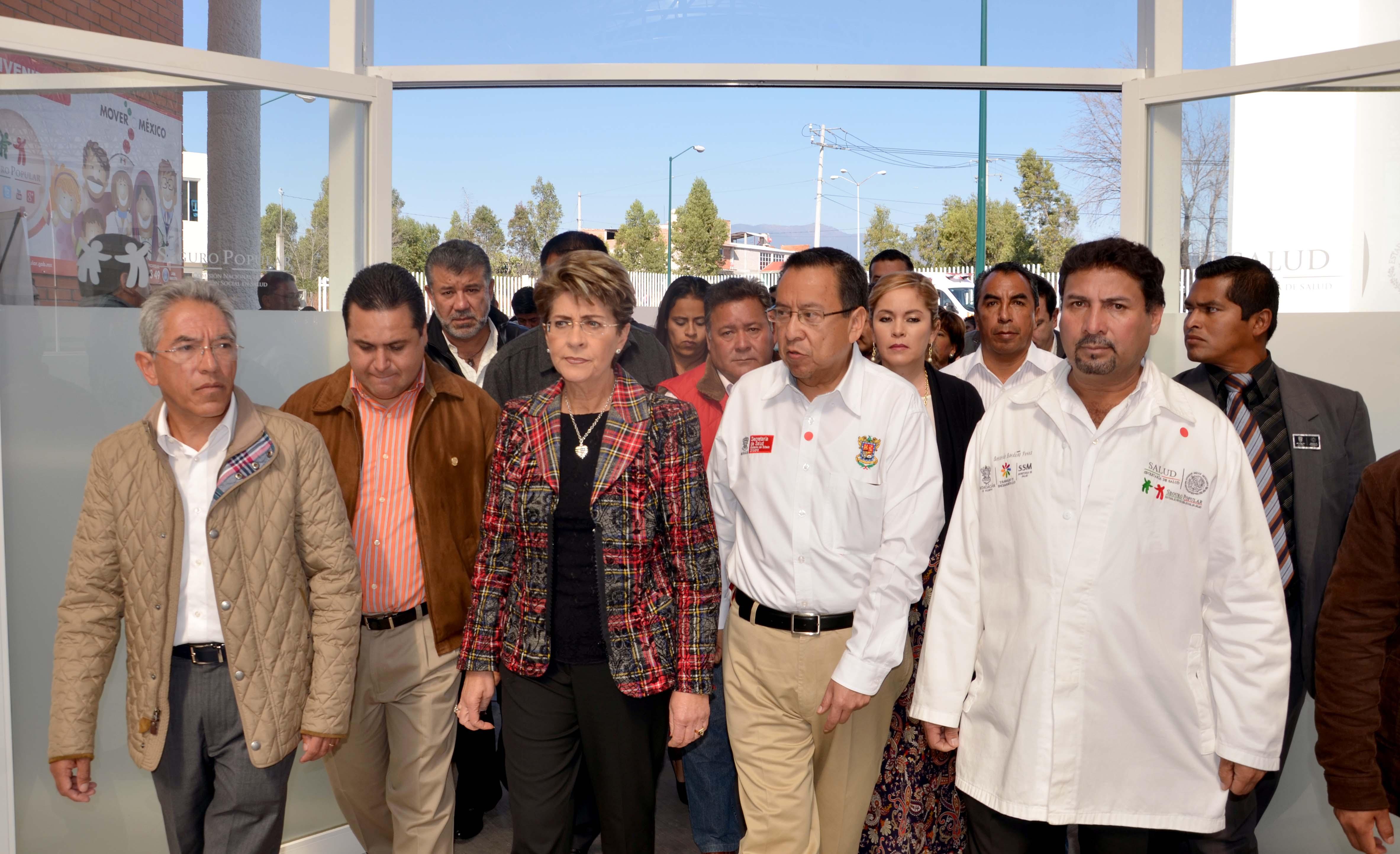 Modernizan infraestructura hospitalaria en Michoacán
