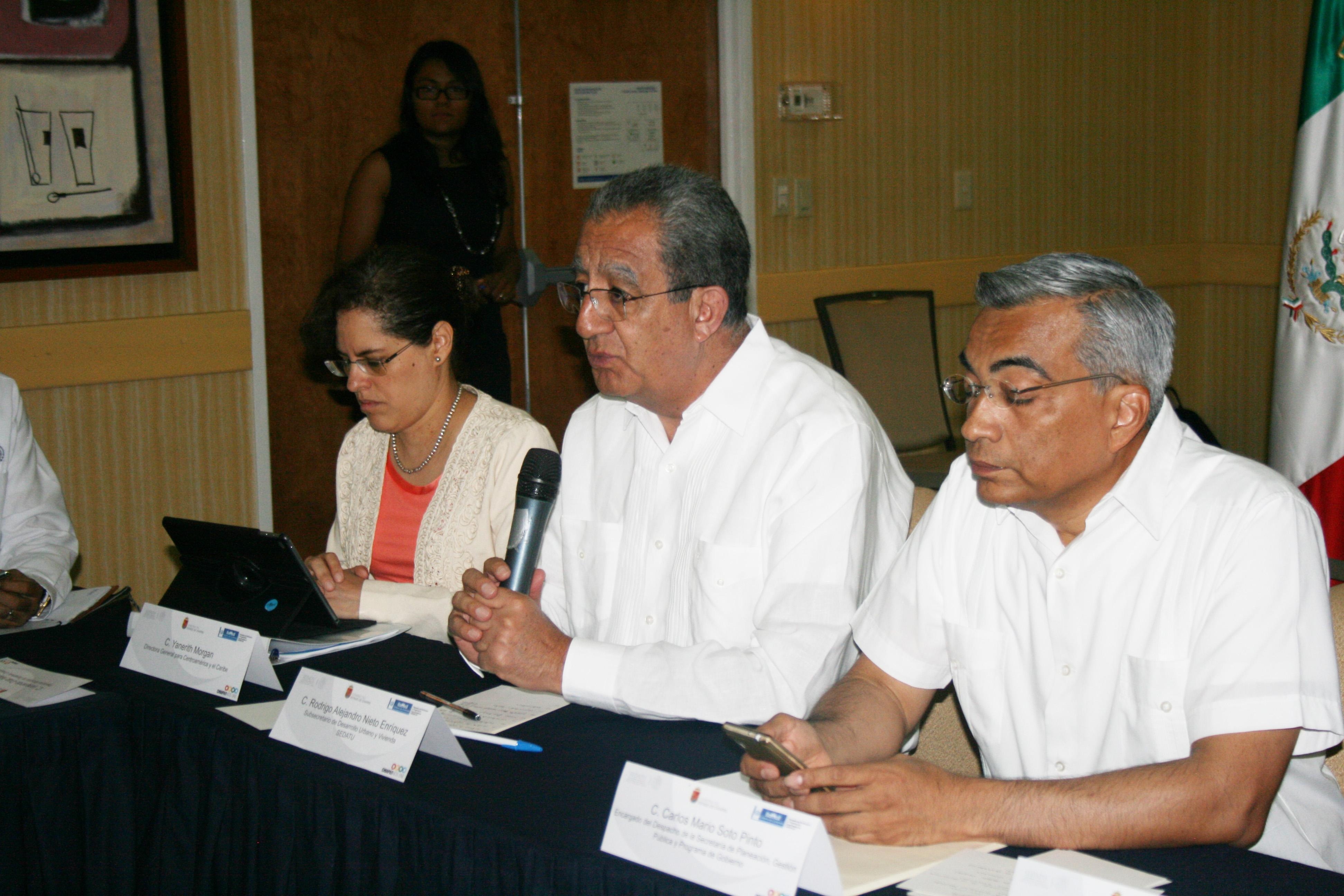 El Subsecretario de Desarrollo Urbano y Vivienda participó en el encuentro realizado en Tapachula, Chiapas.