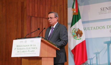 El Director General del CENACE, Eduardo Meraz Ateca.