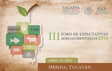 III Foro de expectativas agroalimentarias 2016