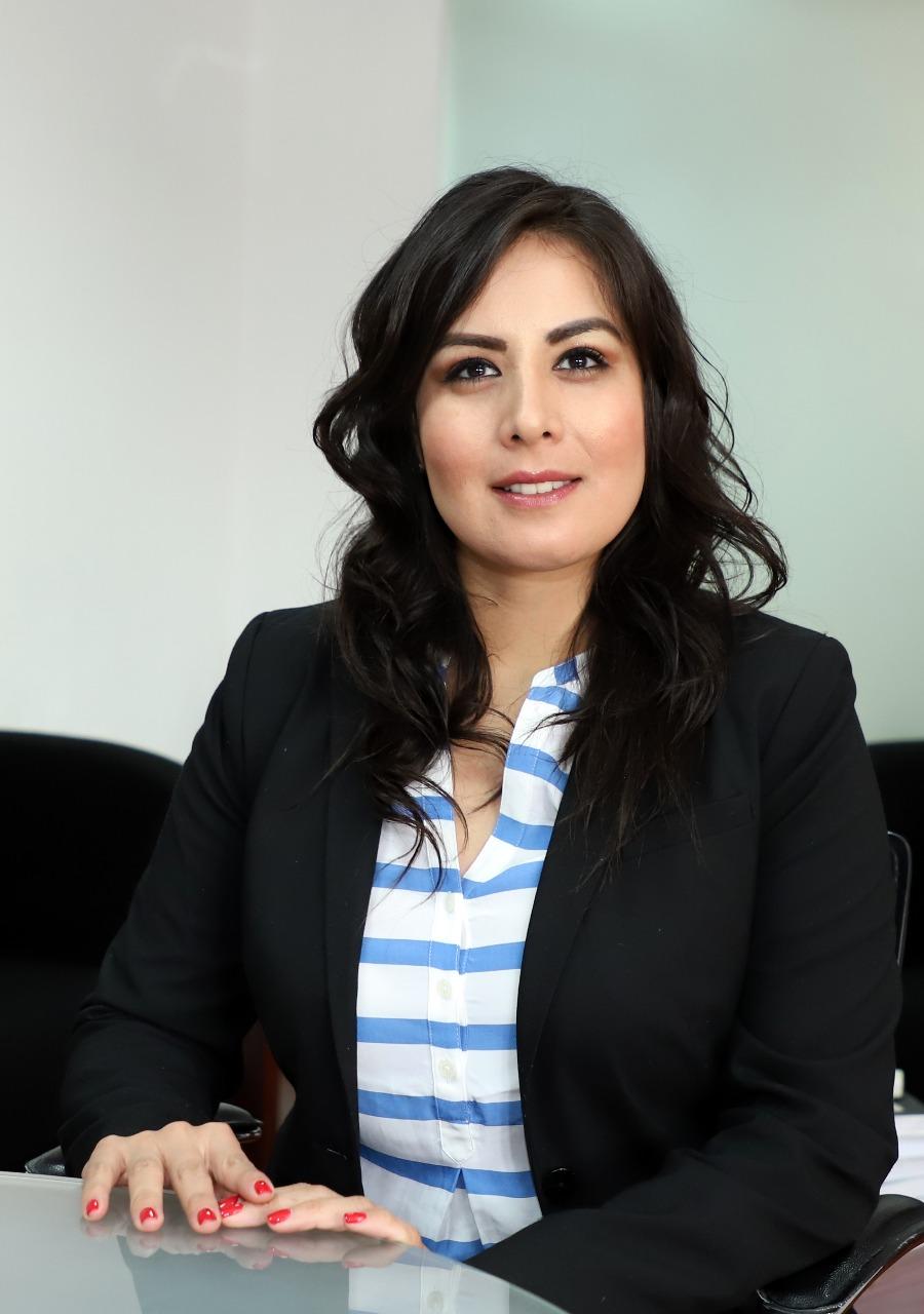 Viridiana Moreno Araujo,  Subdirectora General de Comercialización y de Servicios