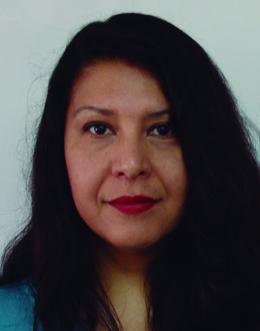 Estela Méndez García Jefa del Departamento de Arte y Diseño, en CONAMPROS