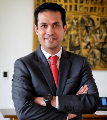 Lic. Tuffic Miguel Ortega Director de Incorporación y Recaudación del IMSS