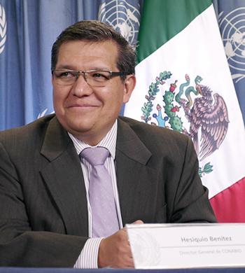 Biól. Hesiquio Benítez Díaz