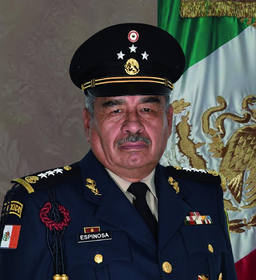 General de División Diplomado de Estado Mayor Dagoberto Espinosa Rodríguez.