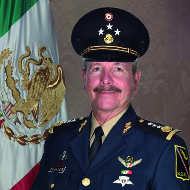 General de División Diplomado de Estado Mayor André Georges Foullon Van Lissum.