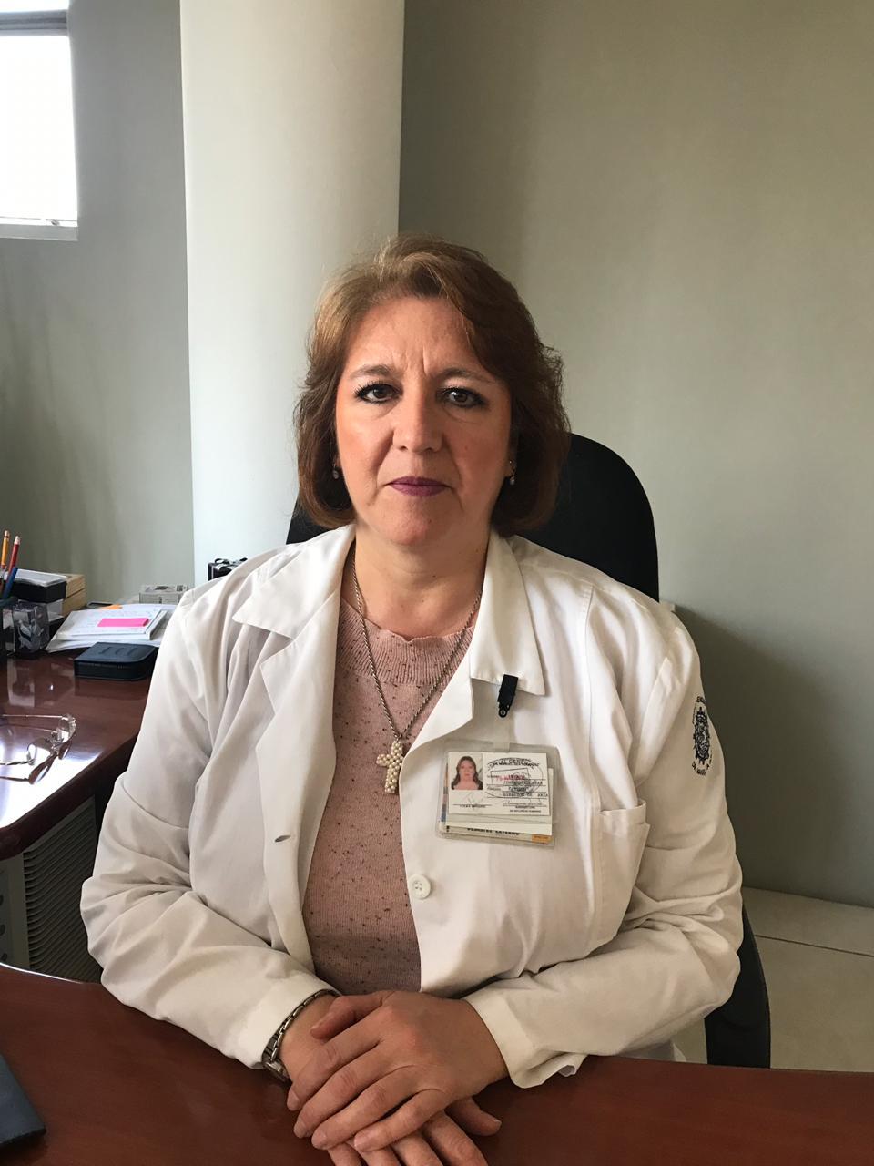 Dra. Irma Jiménez Escobar, Directora Médica