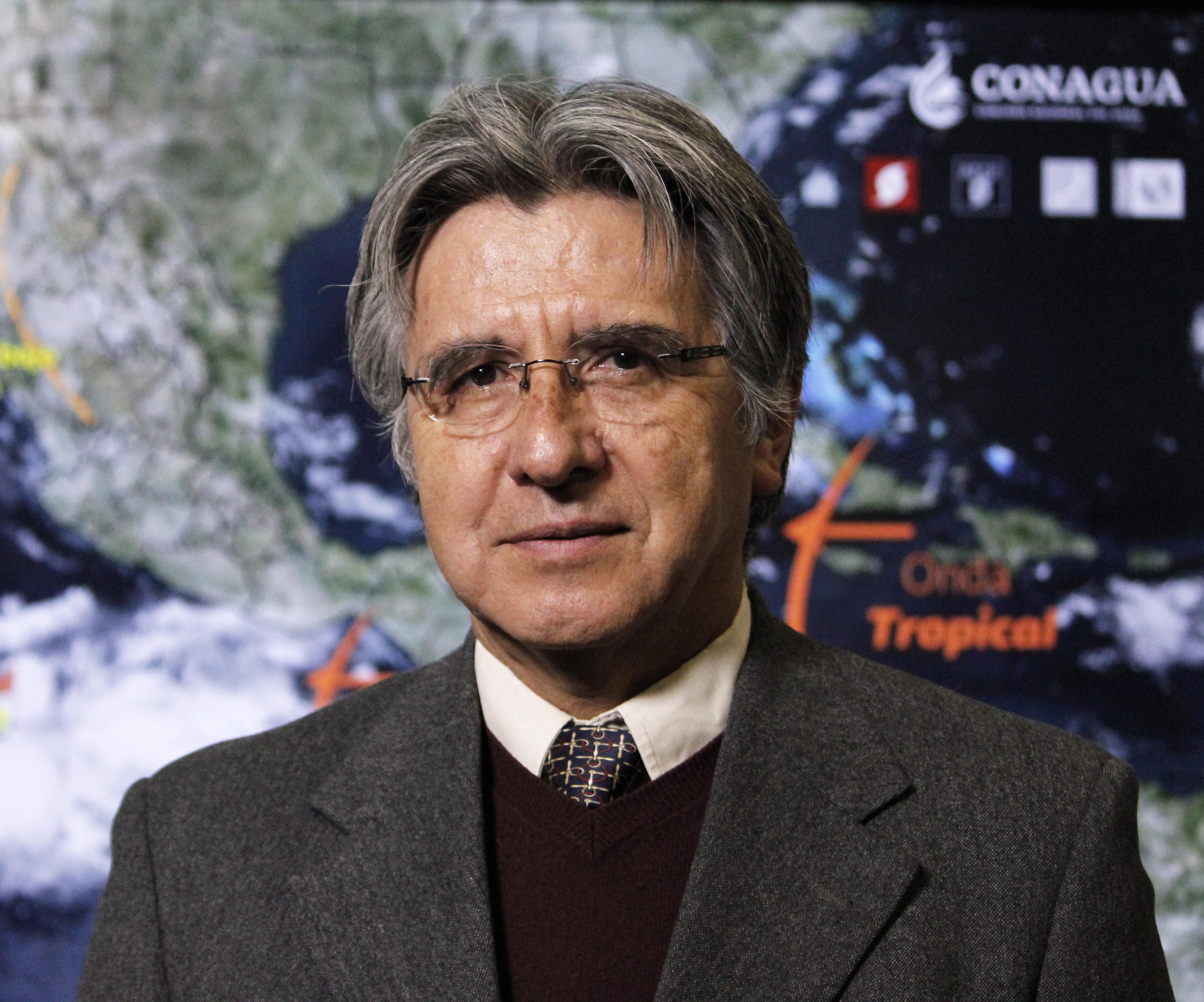 Jorge Zavala Hidalgo, Coordinador General del Servicio Meteorológico Nacional.