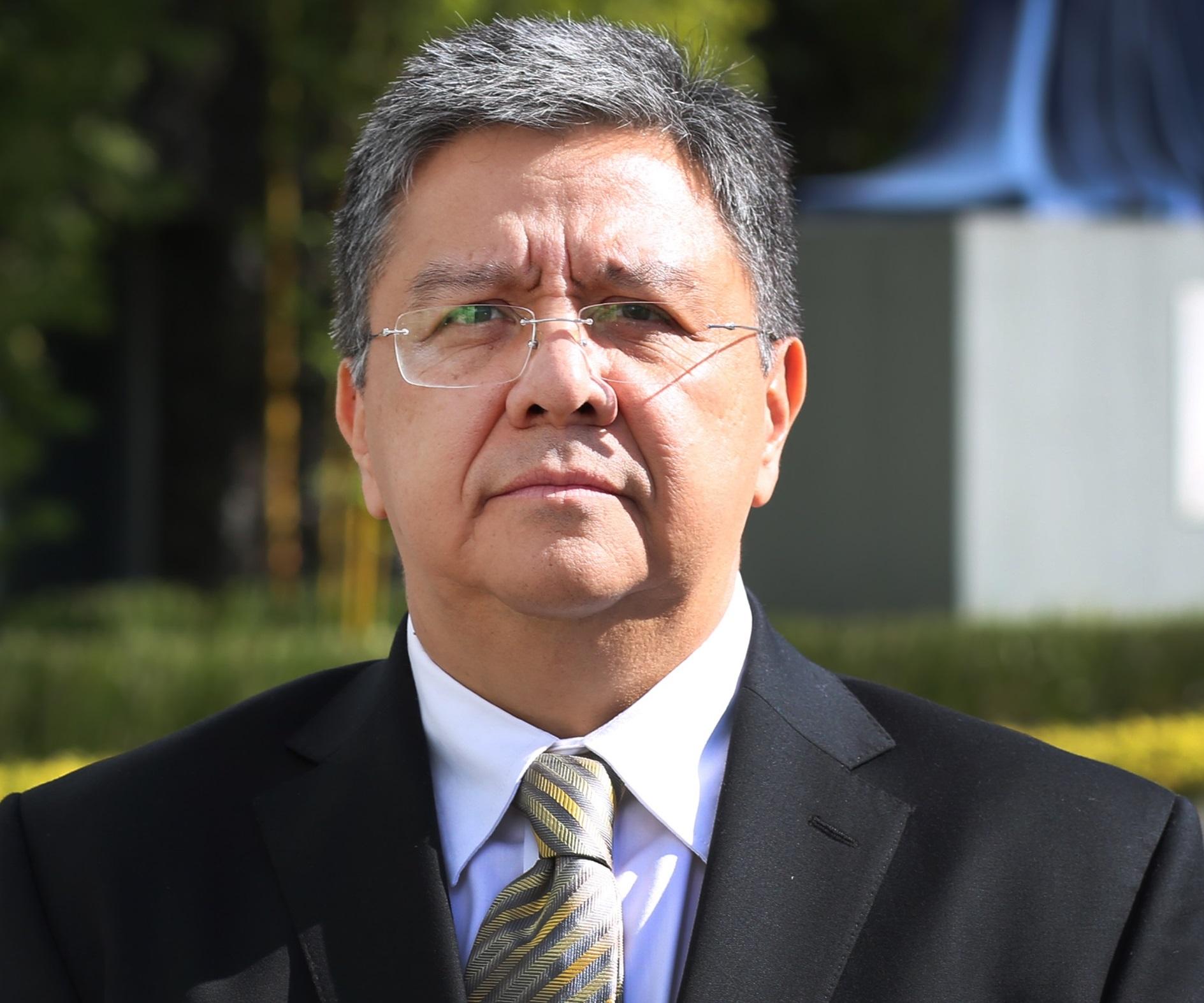 Homero Encarnación Landa Vera, Subdirector General de Agua Potable, Drenaje y Saneamiento.