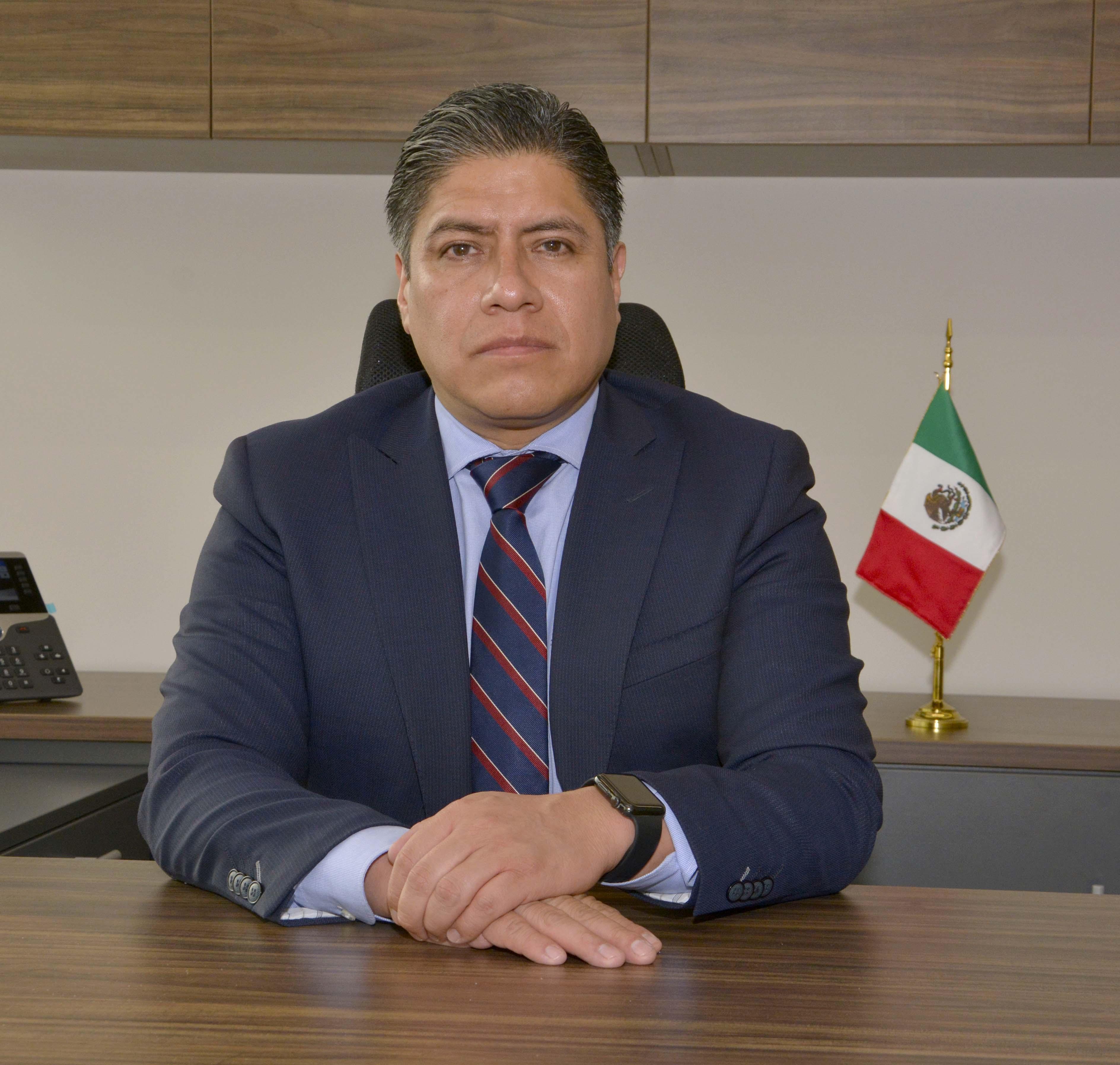 Lic. Ángel Rodríguez Alba. Titular del Órgano Interno de Control en la Secretaría de Salud.