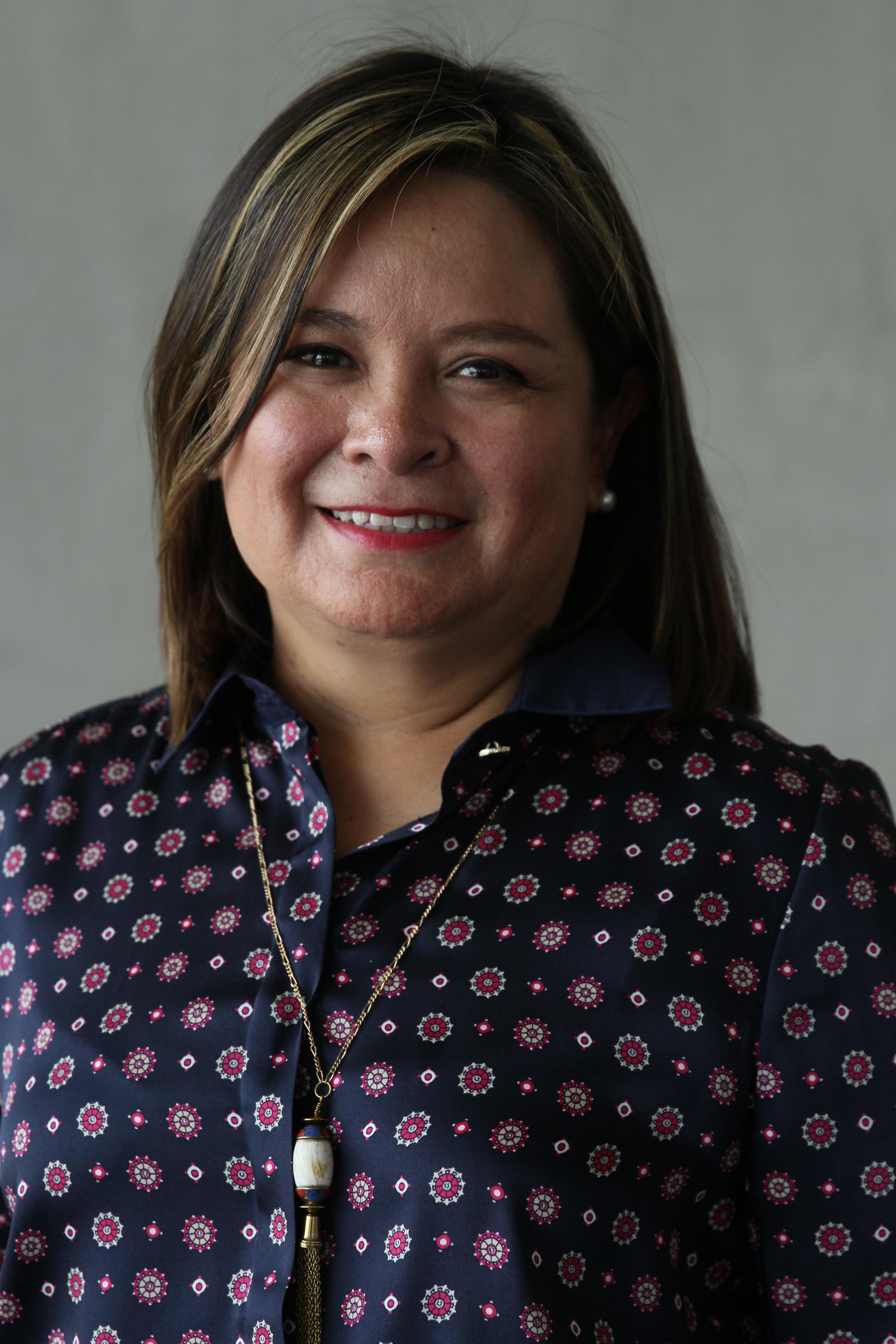 Act. Edith Castro Bedolla, Directora de Administración y Finanzas