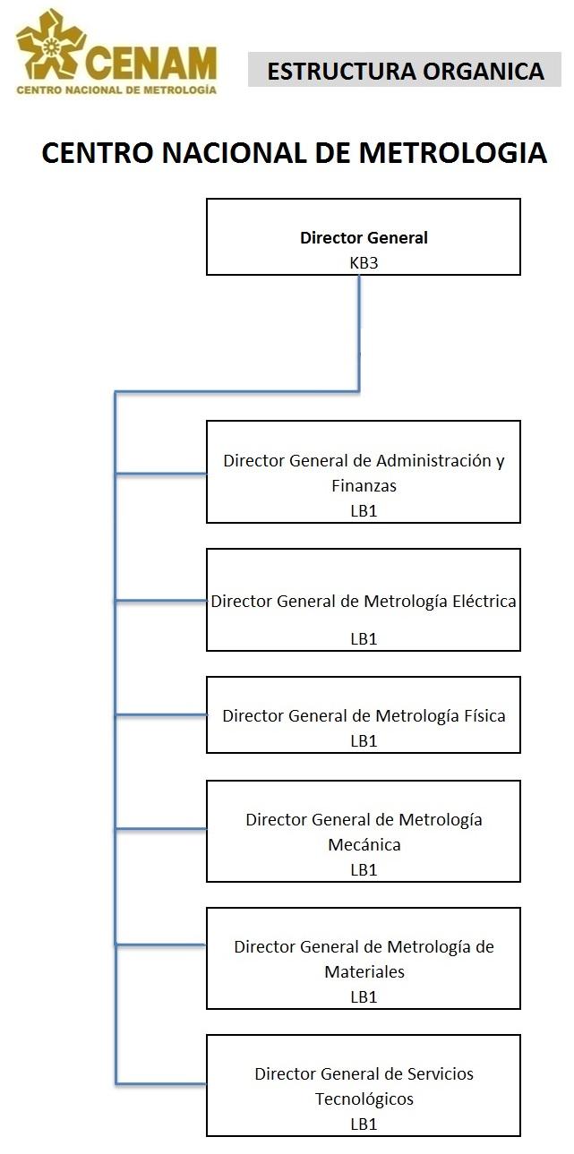 Puestos directivos del CENAM