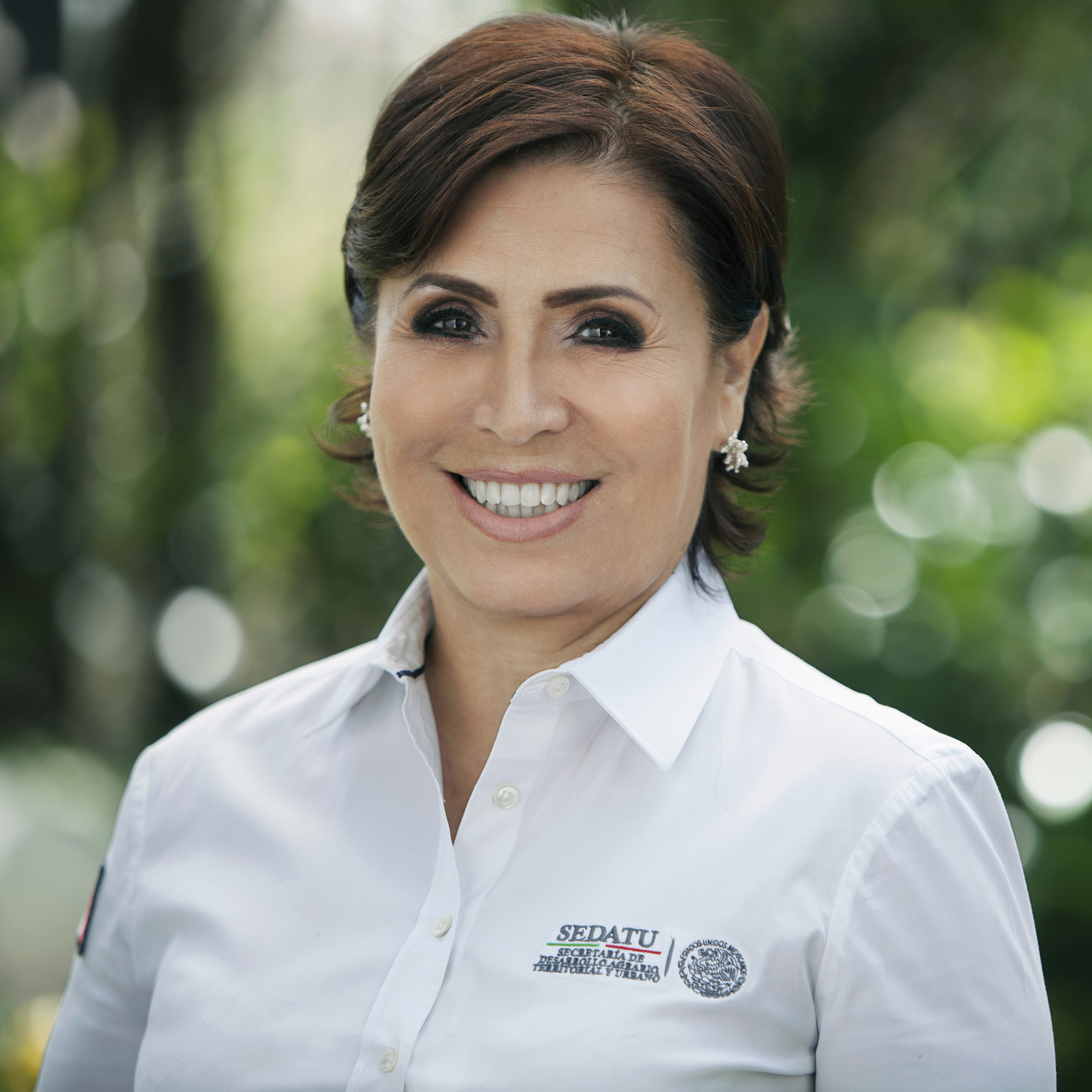 Titular de la Secretaría de Desarrollo Agrario, Territorial y Urbano, Rosario Robles Berlanga.
